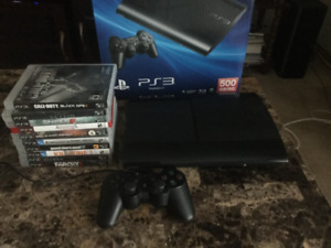 PS3 + 10 games
