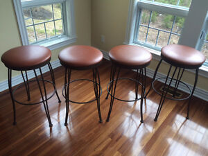 4 Quality Made Bar Stools