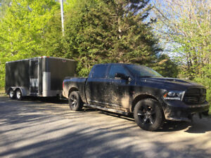 Powered/finished- Enclosed Trailer
