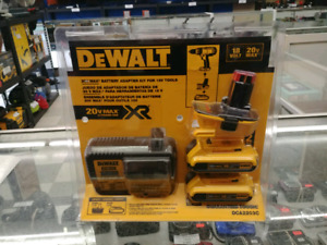 Dewalt 18/20v Adapter Kit