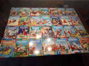 Collection livres «Caroline»