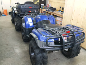 2 Yamaha grizzly 660s for sale