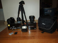 Nikon d3300 18-55 vrII & Sigma 10-20mm f3.5 Bundle