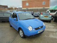 Volkswagen Lupo 1.0 E 3 DOOR - 2003 53-REG - 8 MONTHS MOT