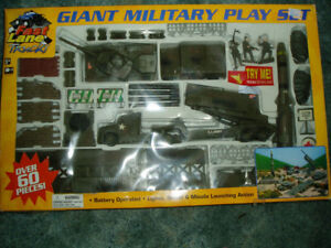 Military Play Set New