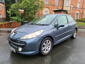 2008 Peugeot 207 1.6 HDI Sport £30 Road Tax