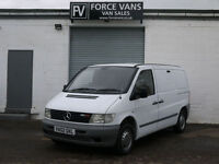 MERCEDES VITO 110CDI 2.2TD LWB HIGH PANEL WORK TOOL TRANSPORT LOGISTICS VAN