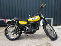 1975 Yamaha DT400 Unregistered US Import Classic Motorcycle