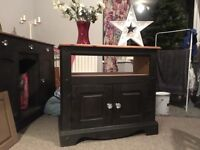 Corona TV unit painted in Annie Sloan