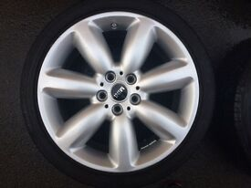 Genuine Mini Alloy Wheels 18inch with Run-flats