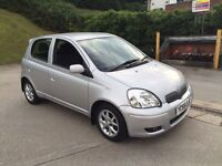 **TOYOTA YARIS COLOUR COLLECTION VVT-I 1.3 PETROL SILVER (2005 YEAR)**