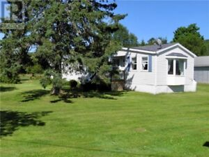 Mini home on 1 acre, 40x30 garage, heat pump, fireplace!
