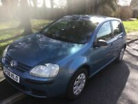 2006 Volkswagen Golf 1.6 FSI-1 owner-63,000-full history-October 18 mot-great value