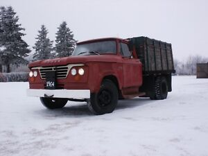 **1964 Dodge D300 1 ton w/dump box**