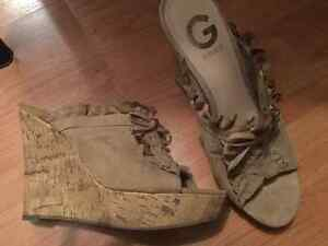 Guess wedge shoes Peterborough Peterborough Area image 2