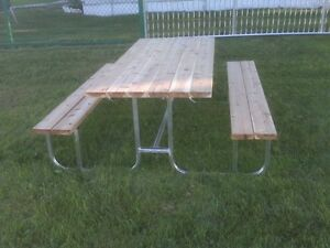 Aluminum Framed Picnic Tables For Sale