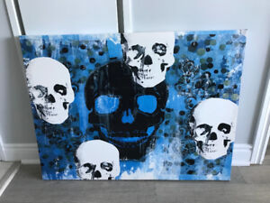 Skull Painting for sale!! Only $15 or best offer!!!