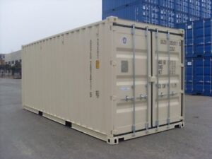 New, Used Storage and Sea Containers 20' or 40' Buy or Rent