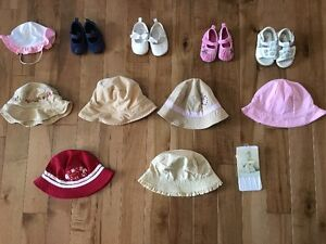 Baby Girl Shoes/Hats/Tights