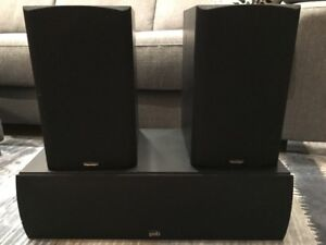 PSB Center Channel and Paradigm Titan v.3 Speakers