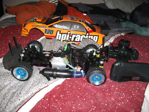 HPI RS4 Nitro RC car trade for laptop or sell for cash