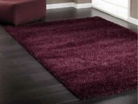 Extra Large Shaggy Deep Pile Rug Cost £480 New. Made by 'Twilight' Size: 340cm x 240cm(Can Deliver)
