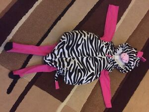 18 month zebra Halloween costume