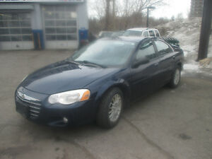 2006 CHRYSLER SEBRING 122.000 KM SAFETY+ E TEST + 1 YEARWARRANTY
