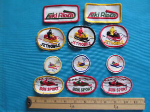 20 RARE 60S SNOWMOBILE MOTONEIGE SKI-DOO  PATCH ECUSSON