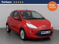 2013 FORD KA 1.2 Zetec 3dr [Start Stop]
