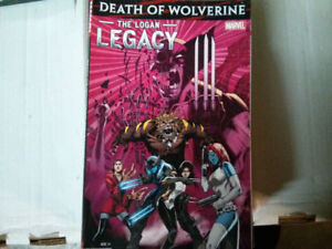 Death of Wolverine: The Logan Legacy TPB comic (Collecting #1-7)