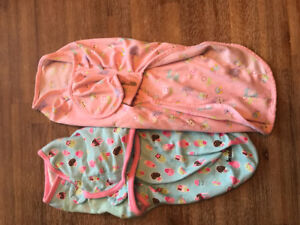 SwaddleMe and and Fisher Price Swaddles - Girls