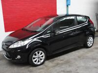 Ford Fiesta ZETEC (black) 2009