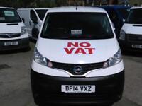 2014 NISSAN NV200 VAN 1.5 dCi Acenta Diesel