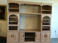 Wall Unit and coffee table