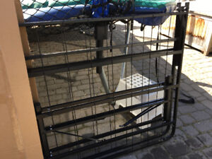 Twin bed folding frame