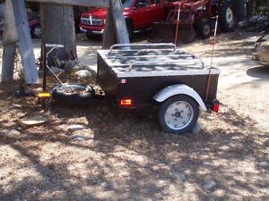 Great Motor Cycle or Small Car Trailer
