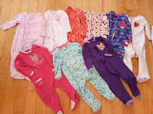 12 Month Sleepers X12 Pajamas