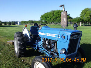 Ford Tractor and Grooming Mower