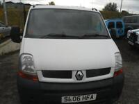 2006 RENAULT MASTER SL28dCi 100 Low Roof Van A GOOD DRIVING VAN.