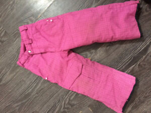 4T pink snowpants