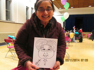 CARICATURE Artist Available for Parties and Events.. St. John's Newfoundland image 6