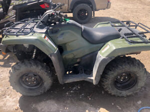 2017 HONDA TRX420FM- SERVICED & READY TO GO
