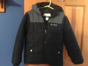 Boys Columbia Winter Coat-size xs 6/7