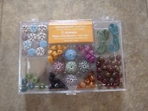 Bead kit - for making bracelets & necklaces; new in box