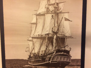 Photograph of the Tall Ship Bounty