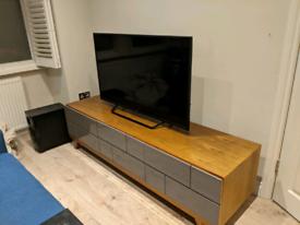 Dwell 'Brick' TV unit - Stone (best offer)