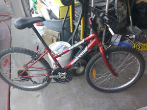 Ladies Red Supercyle SC1800 Mountain Bike Kids or Small Adult