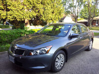 2009 Honda Accord LX Sedan Excellent Condition - 11,514 Km