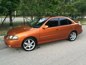 2004 NISSAN SENTRA SE-R 6SPD MANUAL RARE TO FIND A MUST SEE